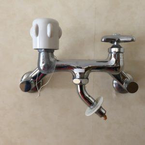 △ 現場日記 △ 洗濯水栓交換工事